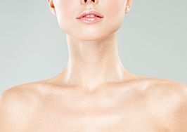 注射による肩こりの改善、肩のライン治療